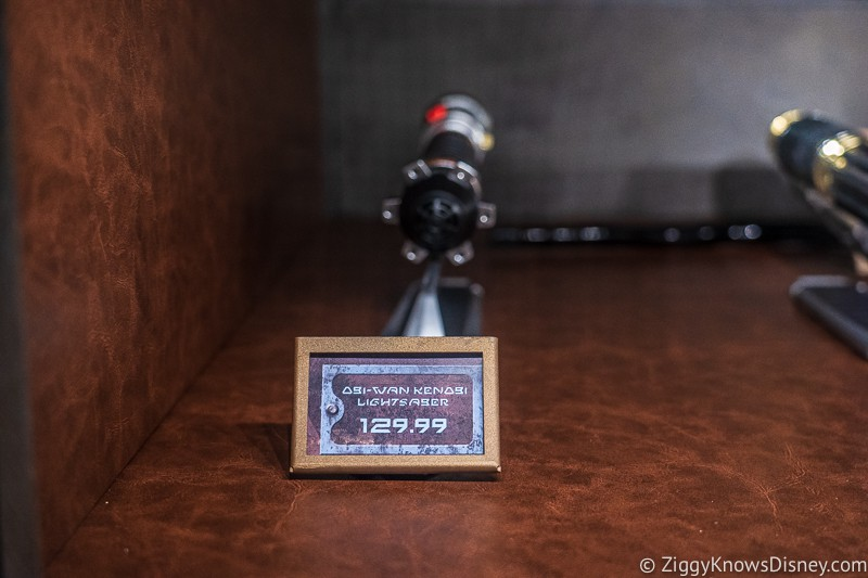 Star Wars Legacy Lightsabers price Dok Ondar's Den of Antiquities Galaxy's Edge
