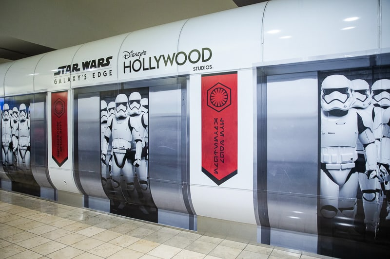 New Star Wars wraps at Orlando International Airport