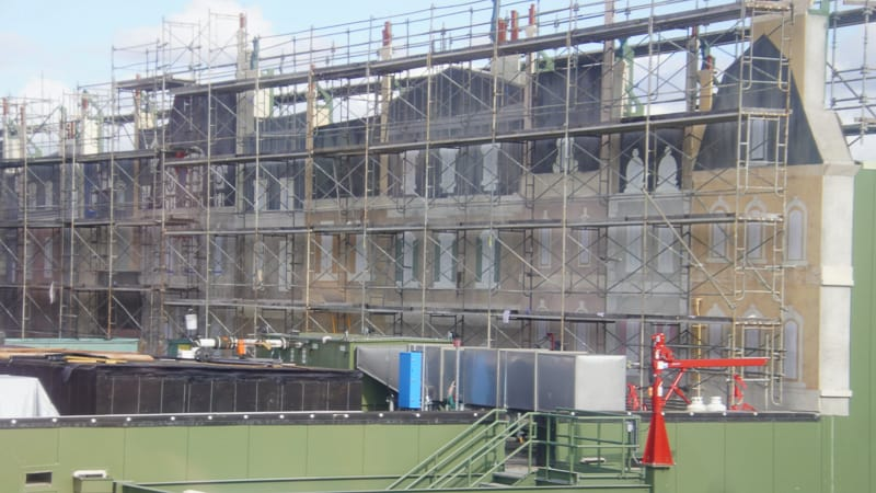 france building facades from skyliner Remy's Ratatouille and France Construction Update November 2019