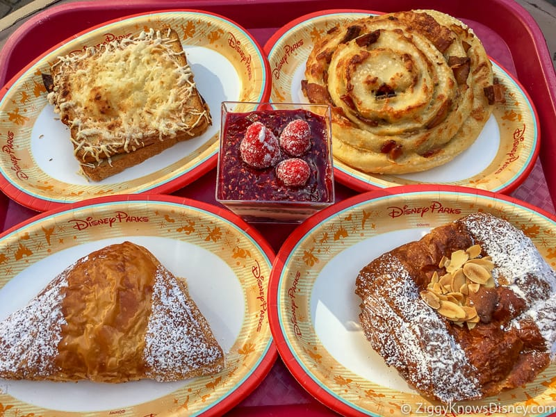 snacks from France pavilion in Epcot