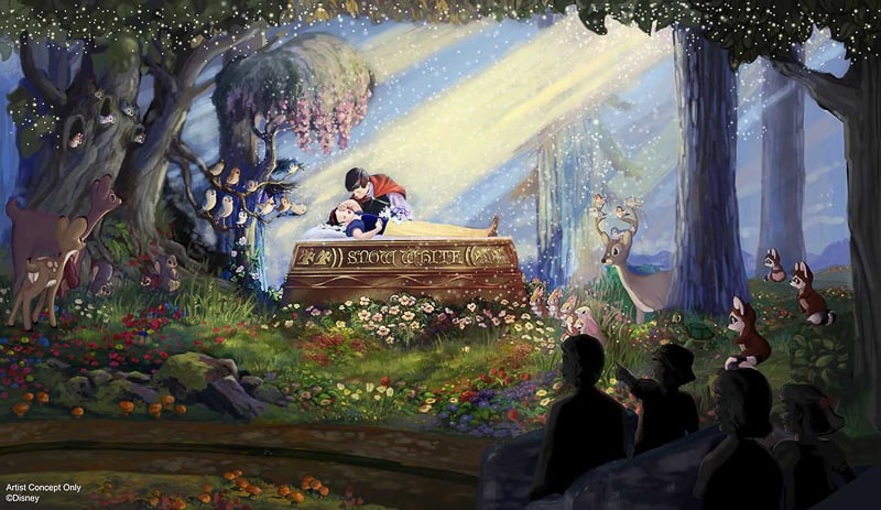 Snow White's Scary Adventures new concept art