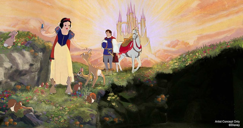 Snow White's Scary Adventures refurbishment new concept art