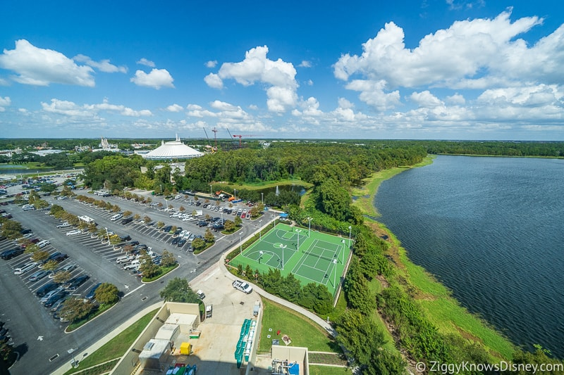View of Magic Kingdom from Bay Lake Tower