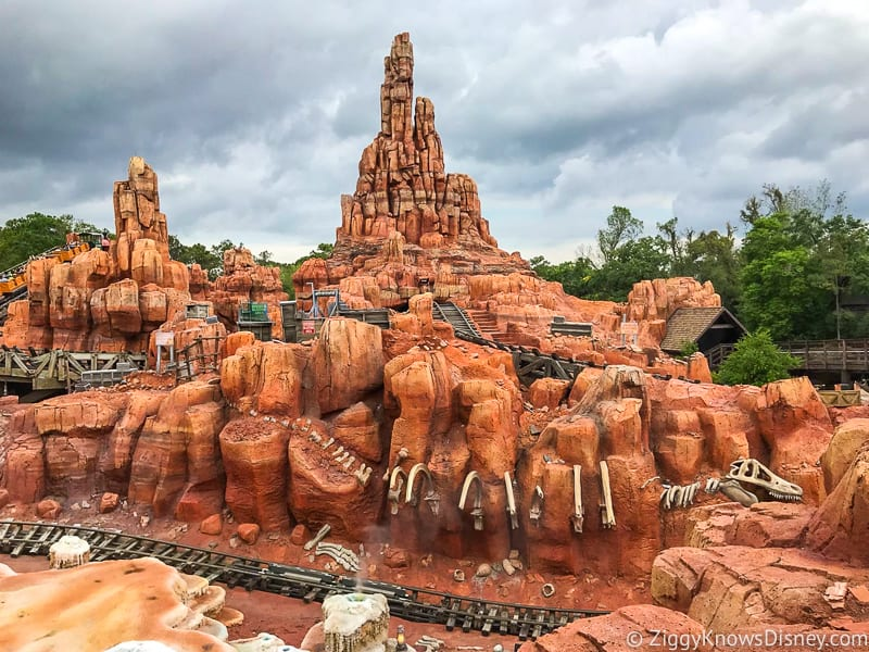 Big Thunder Mountain Railroad closing for refurbishment