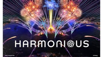 Disney Harmonious Logo concept art