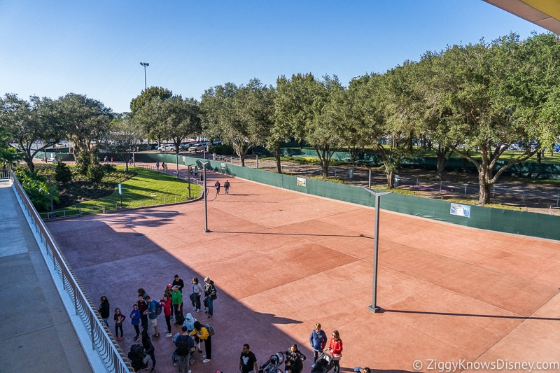Bag check Epcot Entrance Construction Updates December 2019