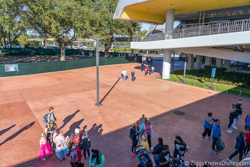 line outside Epcot Entrance Construction Updates December 2019