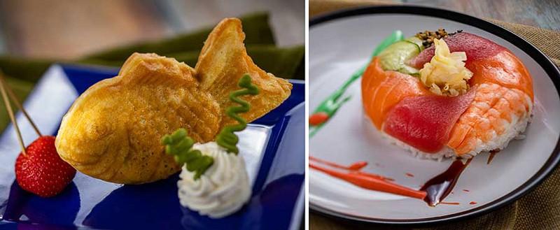 Goshiki food 2020 Epcot Festival of the Arts