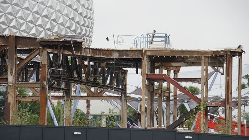 Epcot Future World Construction Updates December 2019 Innoventions West South