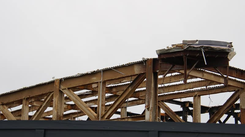 Epcot Future World Construction Updates December 2019 Innoventions West roof