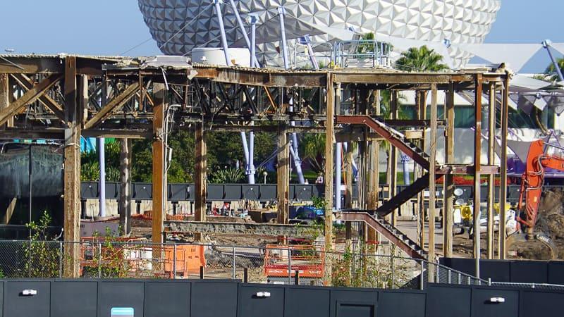 Epcot Future World Construction Updates December 2019