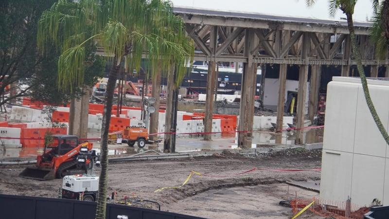 Inside Innoventions West Demolition Epcot Future World Construction Update December 2019