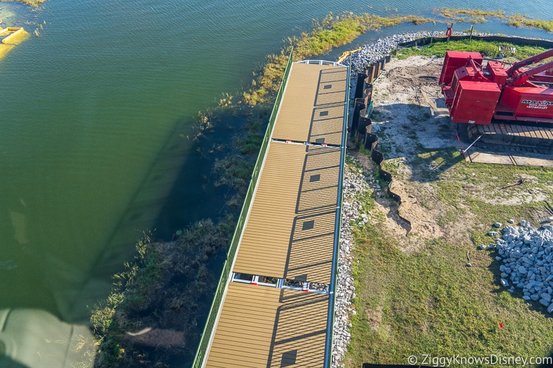 Grand Floridian Magic Kingdom Walkway Construction Updates December 2019 bridge