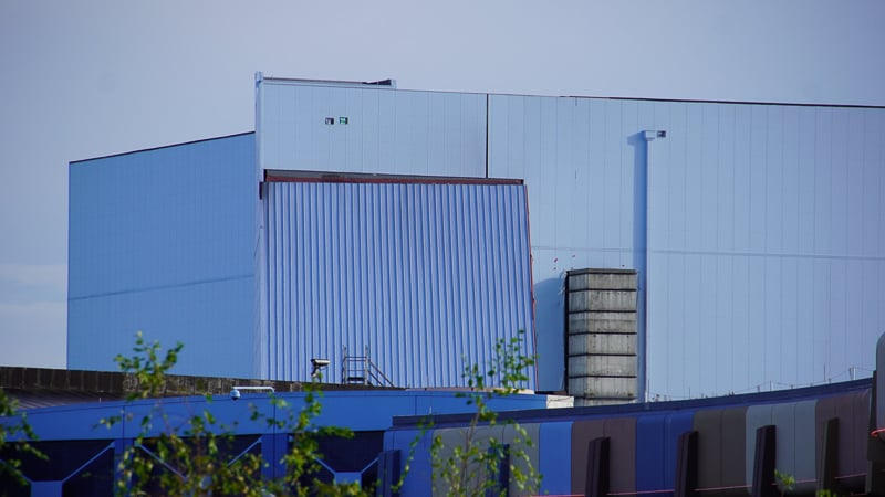 outside the building Guardians of the Galaxy coaster