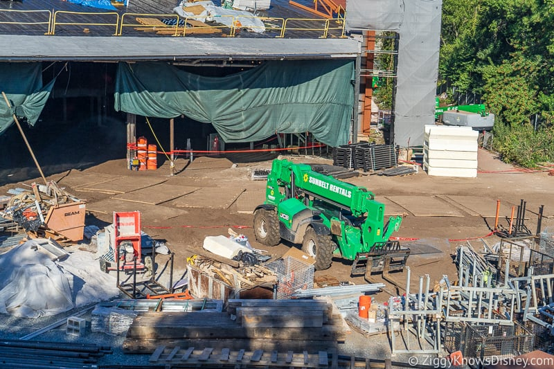 Guardians of the Galaxy Coaster Construction Updates December 2019
