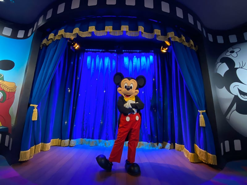 New Mickey Mouse Character Meet Imagination! Pavilion Epcot
