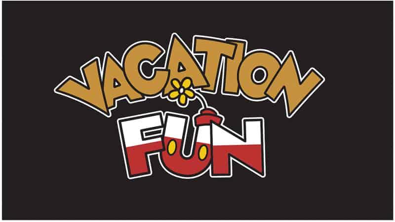 Vacation Fun Mickey Shorts Theater Logo