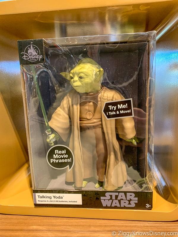 New Yoda dolls in Hollywood Studios