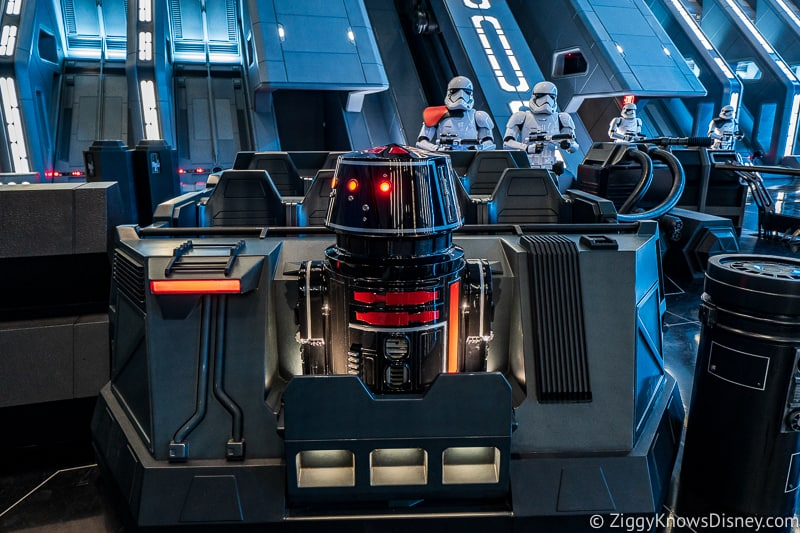 Star Wars: Rise of the Resistance ride vehicle