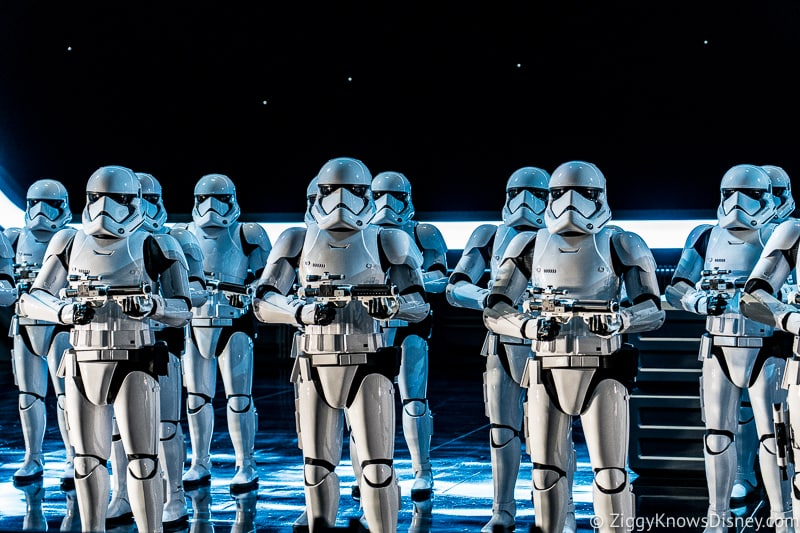 Star Wars: Rise of the Resistance stormtroopers