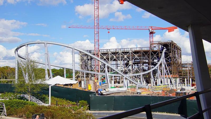 Tron Coaster Construction Update December 2019