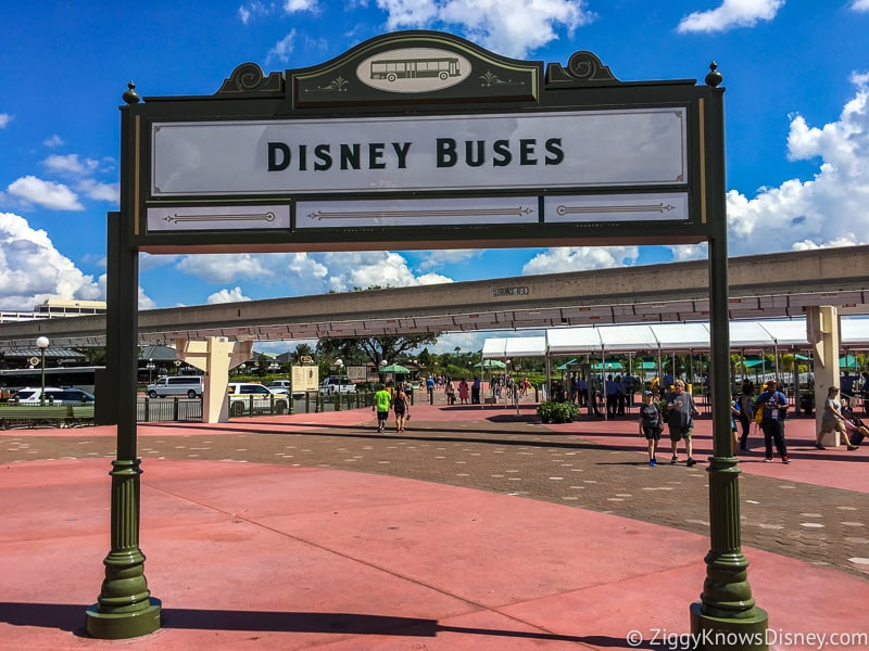 Bus Stop at Disney's Magic Kingdom