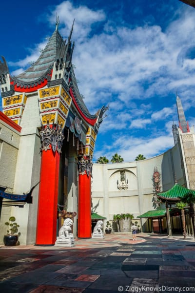 Chinese Theater outside front courtyard