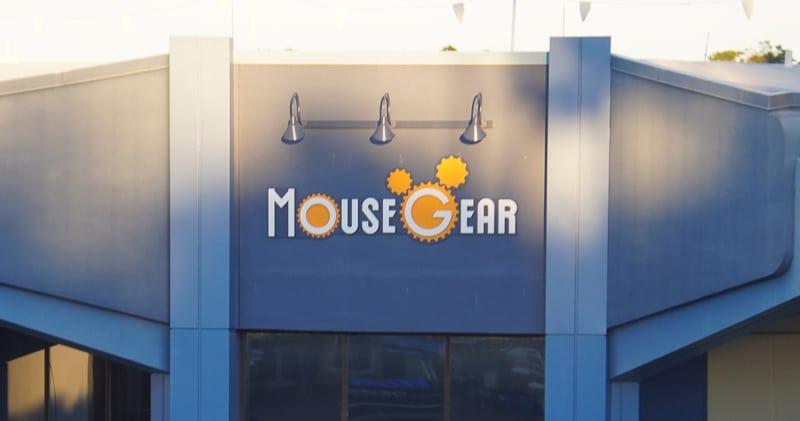 Epcot Future World Construction Updates January 2020 new temp mousegear