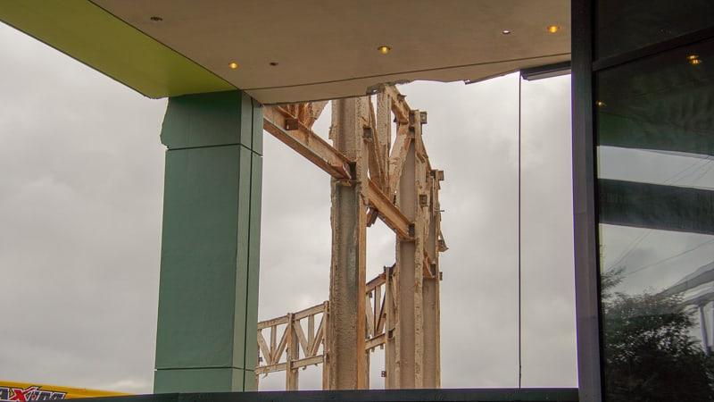 Epcot Future World Construction Updates January 2020 from breezeway