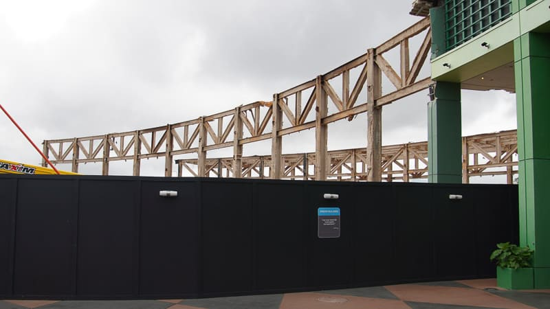 Epcot Future World Construction Updates January 2020 near breezeway