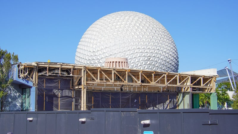 Epcot Future World Construction Updates January 2020 current state of Innoventions west