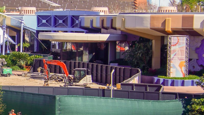 Epcot Future World Construction Updates January 2020 MouseGear
