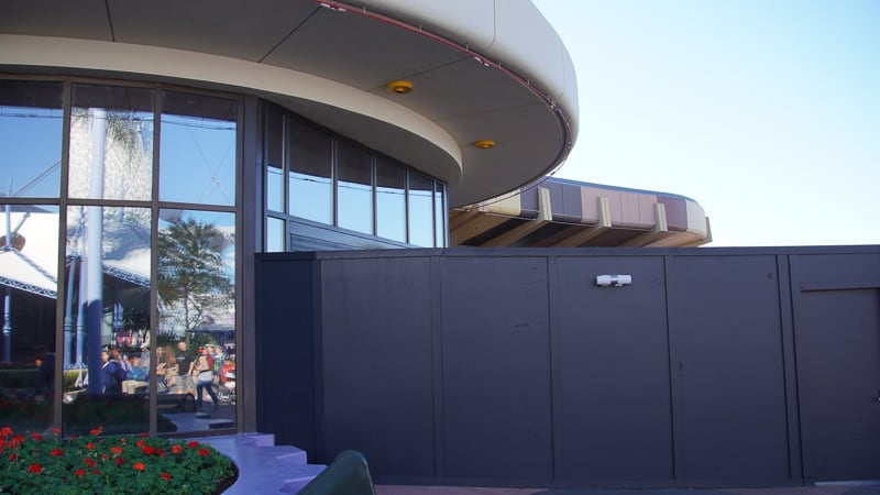 Epcot Future World Construction Updates January 2020 breezeway to breezeway
