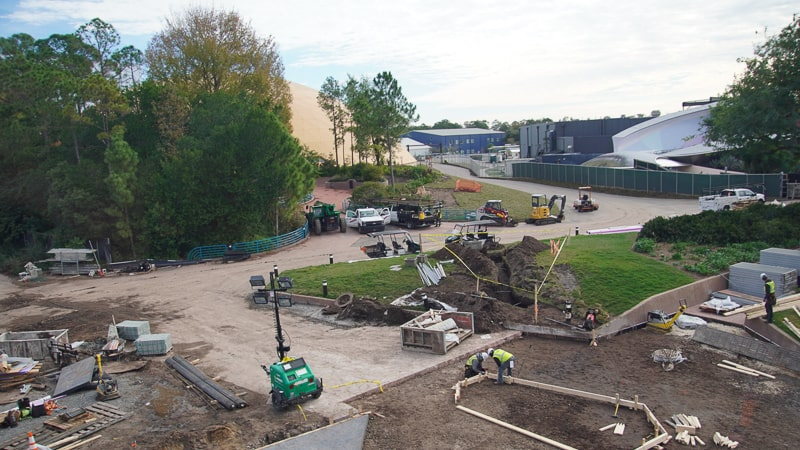 play pavilion Epcot Future World Construction Updates January 2020