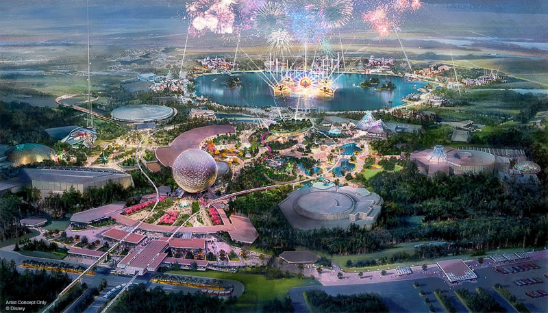 new EPCOT expansion project