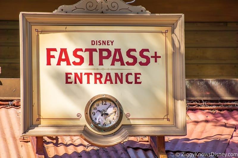 Paid FastPass+ in Disney World