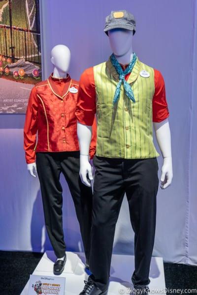 Mickey and Minnie's Runaway Railway Cast Member Costumes