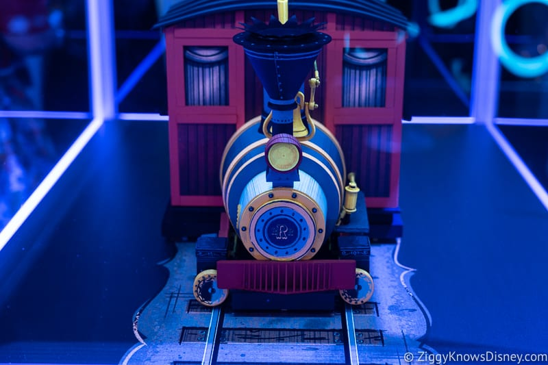Mickey and Minnie's Runaway Railway Ride Vehicle front