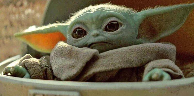 The Mandalorian and Baby Yoda Character Meet Hollywood Studios