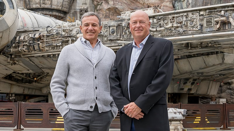 Bob Iger and Bob Chapek take a big pay cut at Disney