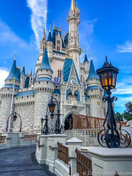 Cinderella Castle Refurbishment Magic Kingdom