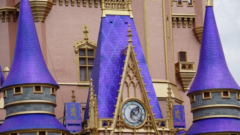 Cinderella Castle purple roof