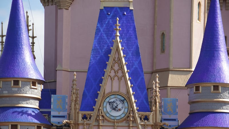 Cinderella Castle blue roof