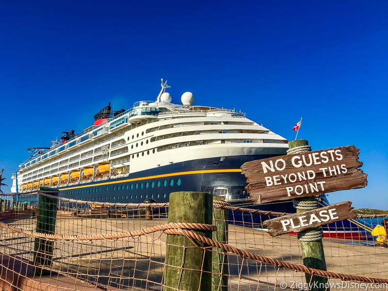 How is the Disney Cruise Line dealing with Coronavirus