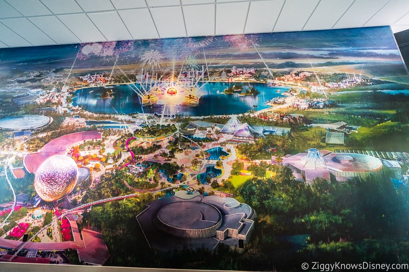 map of Epcot expansion