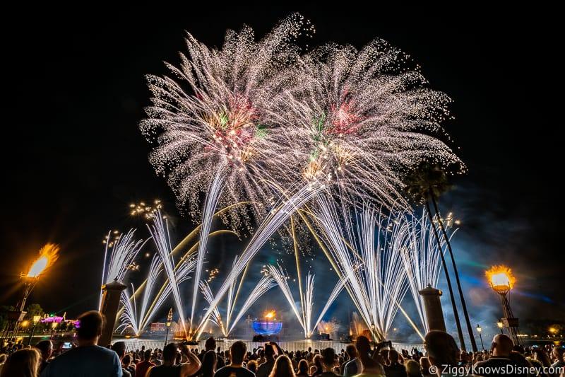 EPCOT Fireworks World Showplace