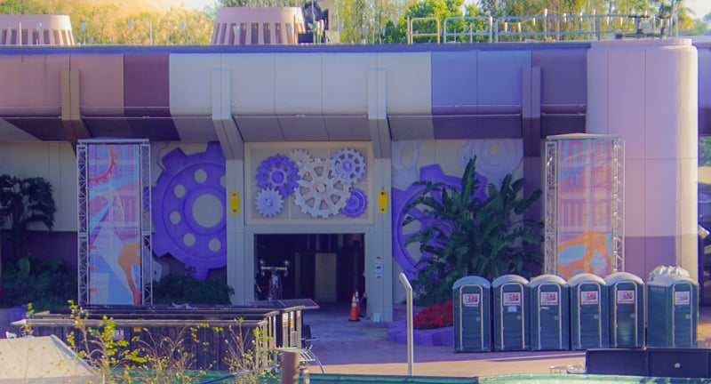 Epcot Future World Construction Updates February 2020 MouseGear Entrance