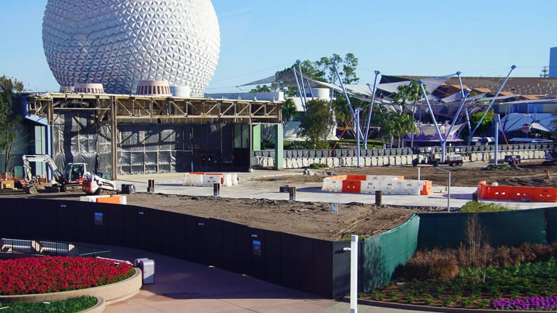 Epcot Future World Construction Updates February 2020 Innoventions West currently