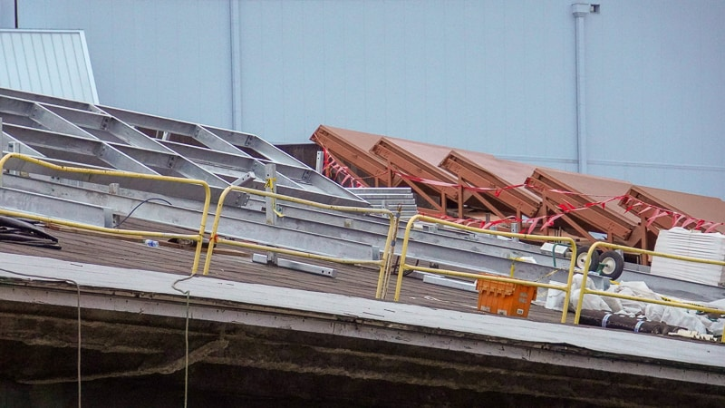 Guardians of the Galaxy Roller Coaster construction update February 2020 mounts