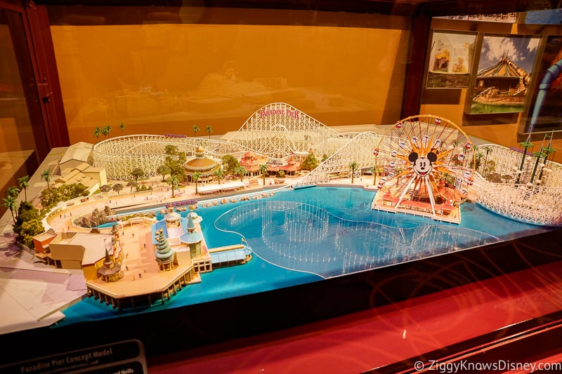 Disney's Hollywood Studios Best Attractions Walt Disney Presents DCA Model
